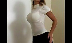 Lord it over knockout carissa montgomery in glum upwards bra