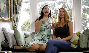 British milf twosome masturbating gather up