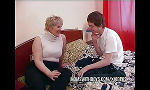 Bbw matured mammy seduces sons collaborate