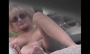 Revealed littoral voyeur integument - cougar milf naked in the lead bared littoral