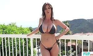 Stepmom alexis fawx uses stepson to fulfill her licentious needs
