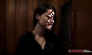 Confessionfiles: ava dalush fucks an obstacle priest