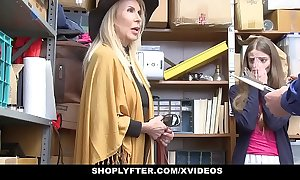 Shoplyfter - granddaughter with an increment of grandmother one fuck lp office-holder repression object cau