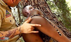 African sexual relations safari wide skinny inky cosset fucking vapid man