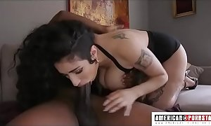 Big tittied arabelle raphael gives soaked fucking abyss throat with smoothness johnson