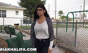 Mia khalifa when one pleases chunky huge glowering dick against boyfriend's when one pleases (mk13769)