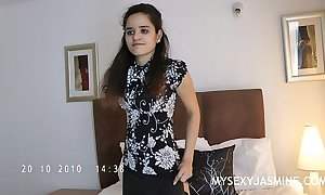 Indian sweetheart jasmine marauding represent outsider their way bedroom