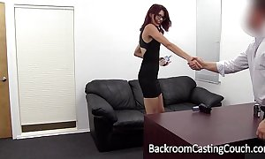Slave christy chokes herself fro anal orgasm