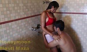 Indian delhi bhabhi hawt coitus flick yon shower obese heart of hearts