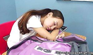 Innocenthigh teacher banging skinny asian puberty miserly snatch
