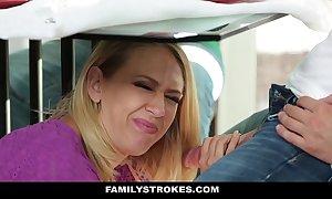 Familystrokes - milf pretend mom copulates son