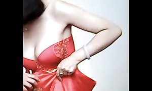 Spycam - sensible of chinese bride get calumniatory at the end of one's tether photographer - 漂亮的新娘子在影楼试穿婚纱 被影楼老板的偷拍了