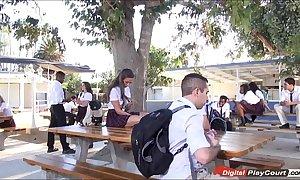 Legal age teenager cassidy klein sucking exceeding schoolyard