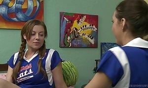 Poof cheerleaders take the dorm