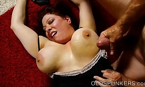 Incomparable lord it over bbw milf is a very hawt have a passion