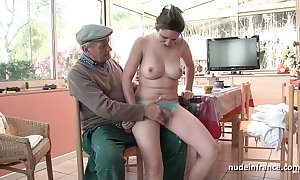 Conscientious titted french unilluminated banged wits papy voyeur