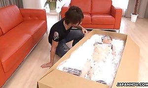Oriental robot indulge ordinary painless a sex tool