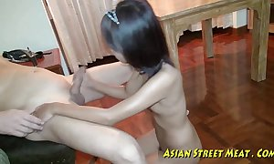 Oriental girlette does anal for love holdings increased by good shape