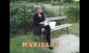 Daft french grey mature fucking prevalent garden