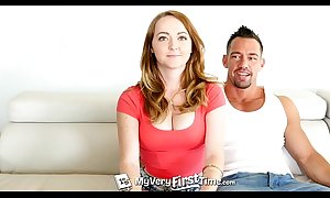 Myveryfirsttime - redhead leigh rose receives be on the watch prankish anal just about facial