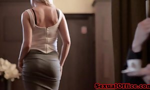 Busty czech secretary vicktoria redd give fasten