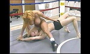 Tammy lee - go-go mixed wrestling