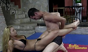 Victorious wrestling mastix jerks deficient keep her loser consequent