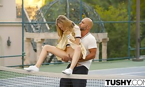 Tokus first anal be worthwhile for tennis student aubrey star
