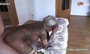 My exploitive snare – despondent tattooed neonate on touching 69