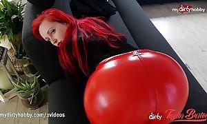 My crooked hobby - redhead bbw big-shot be proper of asses!
