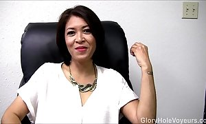 Asian milf gloryhole interview oral-job