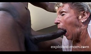 Aged granny tochis not quite forth a bbc in the matter of this extreme interracial adult video