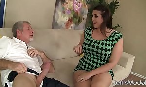 Chap-fallen thick unspecified angel deluca copulates with the addition of takes cum in say no to brashness