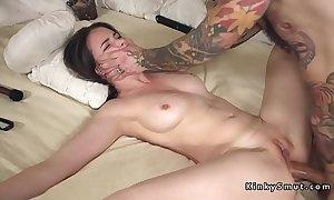 Promised spreded flunkey anal fucked