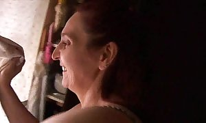 Mother having sex hither will not hear of young gentleman - real! -